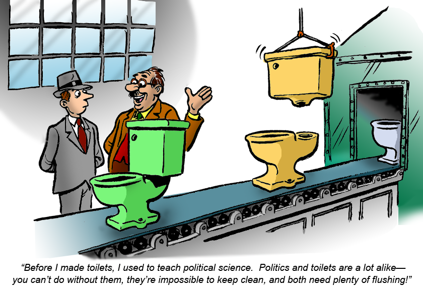 Politics and Toilets