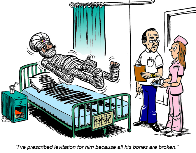 Levitating Patient